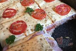 Příprava receptu Zapékané pizza tousty s jednoduchou a rychlou přípravou, krok 13